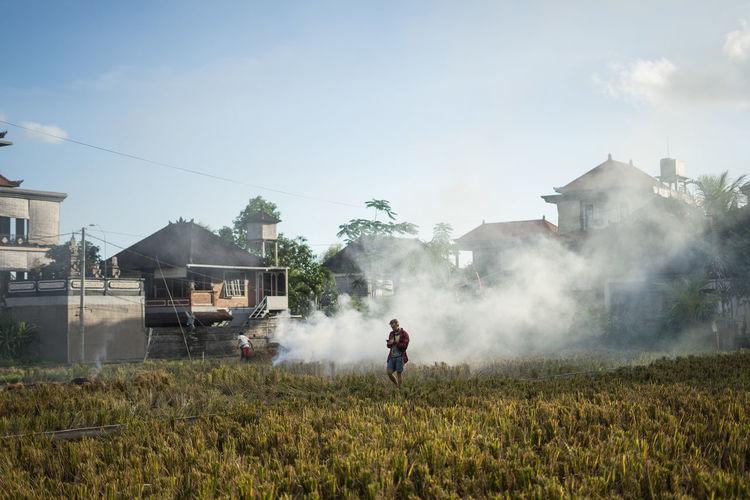 ASIA Field INDONESIA Smoke Fire
