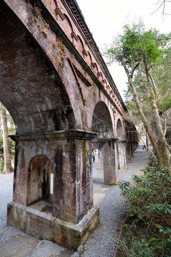 このアーチはいつ見ても美しい 水路閣 南禅寺