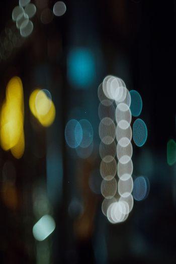 Illuminated Night No People Defocused Focus On Foreground Close-up Indoors