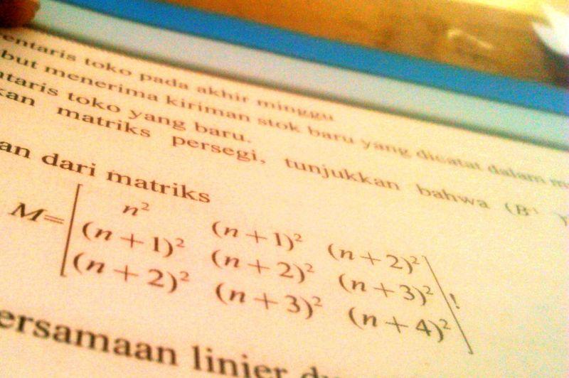 Mathematics is myhobby Text Education First Eyeem Photo