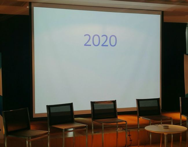 Chairs In Rows 2020vision 2020 Meeting Room Seminar Business Finance And Industry Tech Technology Iot Internet Of Things