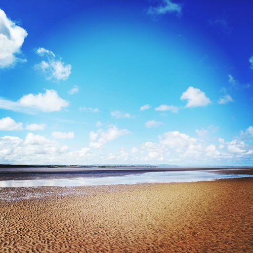 Beach Sand Sea Sky Cloud - Sky Blue Nature Water Outdoors Day Vacations No People Summer Tranquility Scenics Travel Destinations Beauty In Nature Horizon Over Water