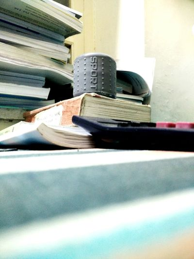 Music Above All Pastel Power First Eyeem Photo Music Study Time Books Songs Calculater Pen Notebook Nomore Tag