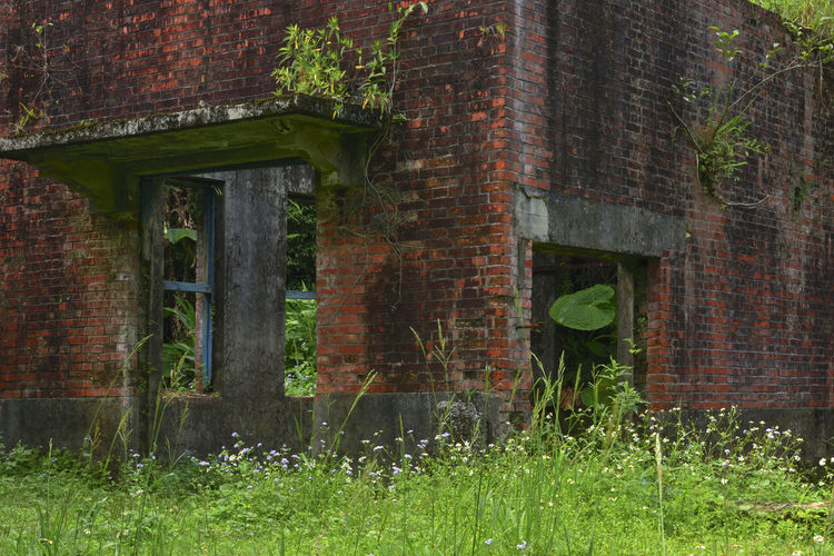 Mining site ruins ruins Ruins Abandoned Architecture Brick Brick Wall Building Building Exterior Built Structure Damaged Day Deterioration Grass Mining Mining Area Nature No People Obsolete Old Outdoors Plant Ruined Run-down Wall Wall - Building Feature Weathered