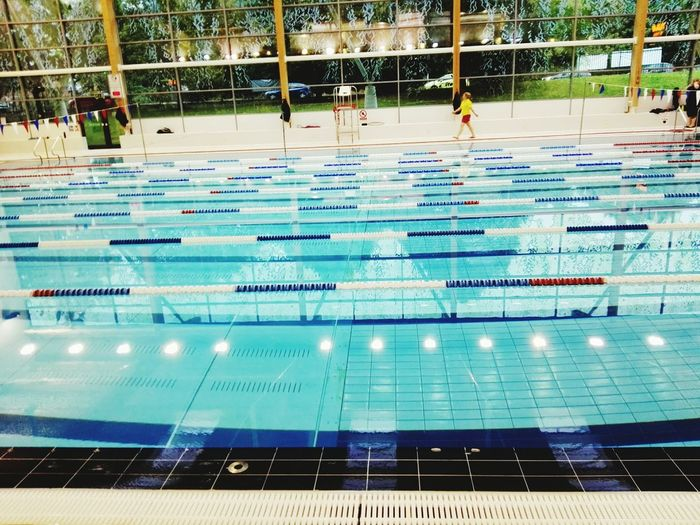 Architecture High Angle View Blue Tranquil Scene Swim Swimming Swimmingpool Swimming Pool Swimingpool Swiming Pool Swimming Time Poolside Pool Swim Race