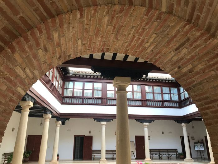 Architecture Built Structure Building Indoors  No People Day Window Architectural Column History The Past House