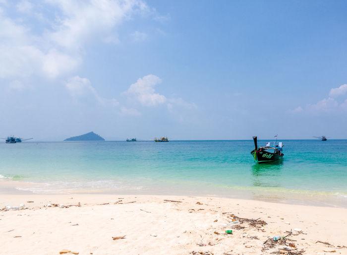 Sea Bulone_island Thailand Boats⛵️ Wansafi-e