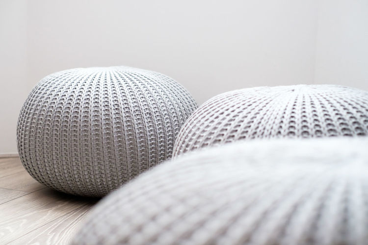 Close-up of ball on table at home