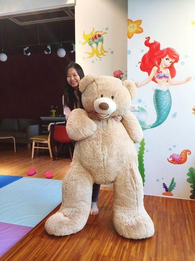 Giant Bear I'm Tiny  So Fluffy