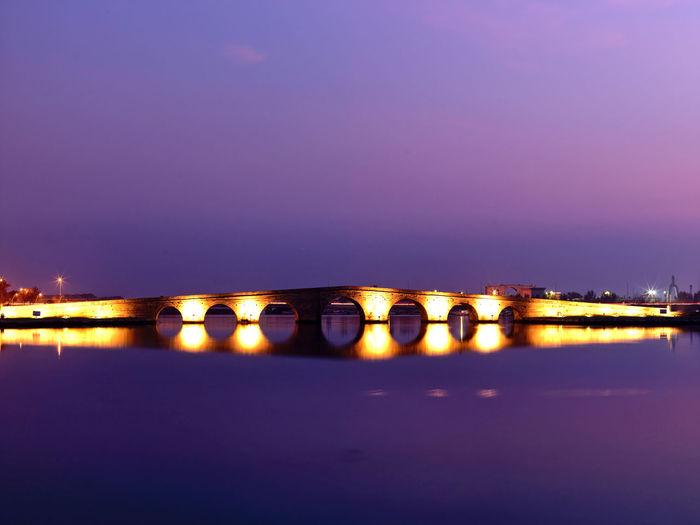 Buyukcekmece Kanuni Bridge - İstanbul City Istanbul Light Sultan Bosphorus Bridge Bridge - Man Made Structure Kanuni Lake Longexposure Mimar Sinan Sea Sun Sunrise Sunset Süleyman