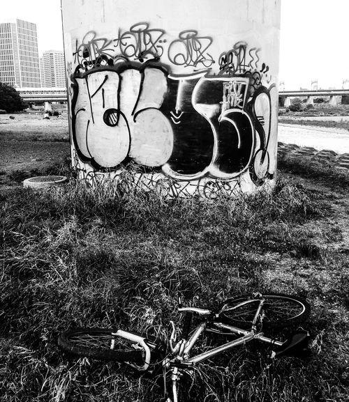 Graffiti Streetart Blackandwhite Black & White Monochrome Black And White Streetphoto_bw Landscape