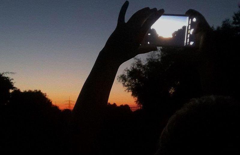 Sunset Abend Summer Sun Landscape PhonePhotography @Teodor Cosmin Summer Views Evening