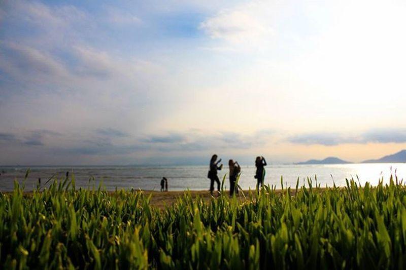 지평선 너머. 부산출사지 부산가볼만한곳 부산다대포 부산 부산여행 다대포 다대포바다미술제 부산바다미술제 바다미술제 바다 부산바다 부산출사 풍경 하늘 부산하늘 DSLR Eos650d Canon Korea Busan Pusan 빈카메라
