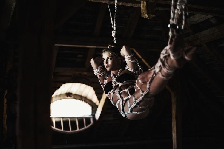 Bondage. By Erkan Camillar Hammocking Hammok Just Hanging Out Model Pose Nevergiveup Relaxing Ropes