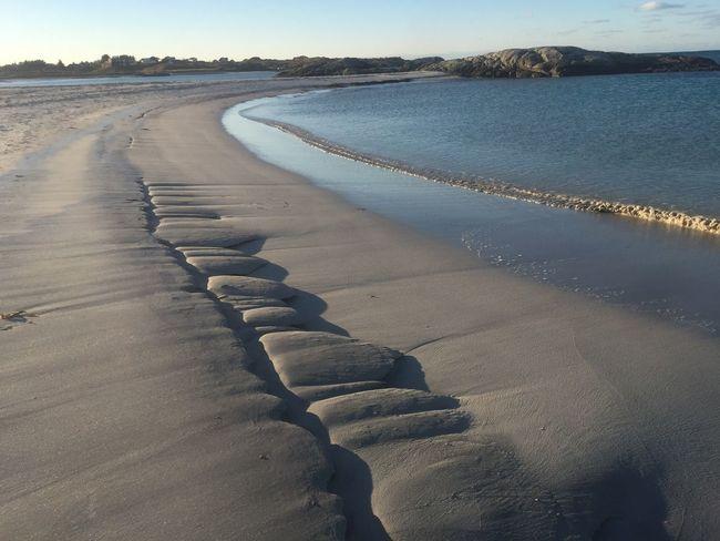 Frozen sand ❄️😊 Sand Beach Beauty In Nature Åkrehamn Karmøy Rogaland Norway