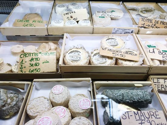 Cheese Fromage For Sale Retail  Choice Variation Arrangement Large Group Of Objects Store Food Small Business Market Stall