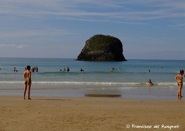 Asturias Asturies Beach Celtic España Franciscodelbosquet Fuji X20 Hiking Holiday Landscape Leisure Activity Llanes Sand Sea SPAIN Tourist