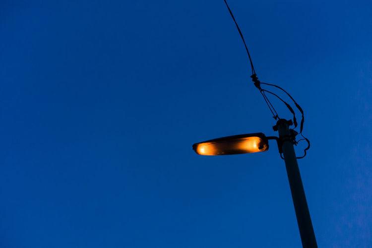Alone In The City  City Life Evening Sky Lightpole Rx100 Shitamachi Sony Sony Rx100 Tokyo Tokyo,Japan