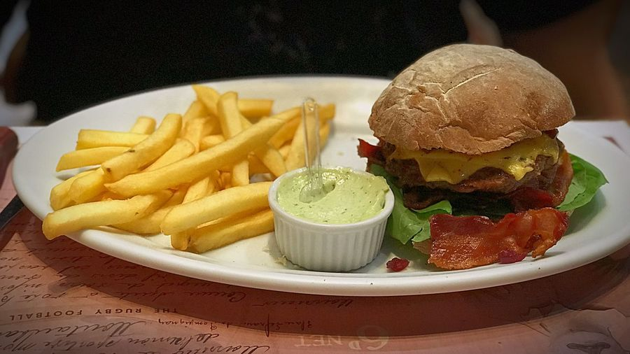 French Fries Unhealthy Eating Food And Drink Hamburger Burger Fast Food Food