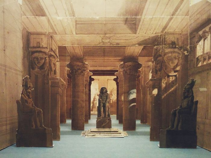 Aida Ancient Art Creativity Egyptian History Human Representation Indoors  Opéra Paris Reconstruction Sculpture Statue Tourism Ópera De Paris