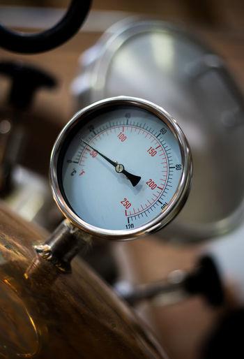 Close-up of valve