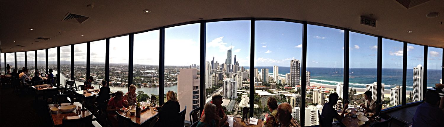 Having Lunch Awesome View Enjoying View