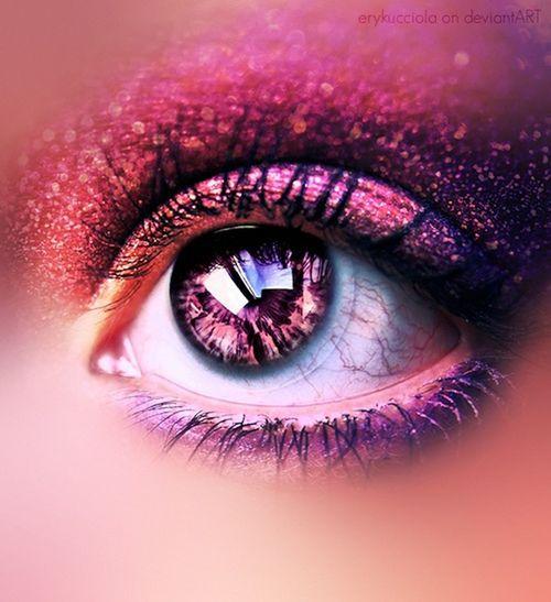 eyes#pink#swag