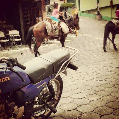 Guatemala Children already know how to Horsebackride So cute badass horse riding