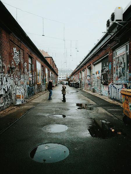 Berlin muzzles... City People Architecture Street Life Streetphoto Streetphotography Urban Decay Urban Urban Lifestyle Puddle Industrial Architecture Old Buildings Vanishing Point Notes From Berlin Welcome To Black Long Goodbye Resist Art Is Everywhere The Street Photographer - 2017 EyeEm Awards Neighborhood Map BYOPaper! Berlin Love Discover Berlin Stories From The City
