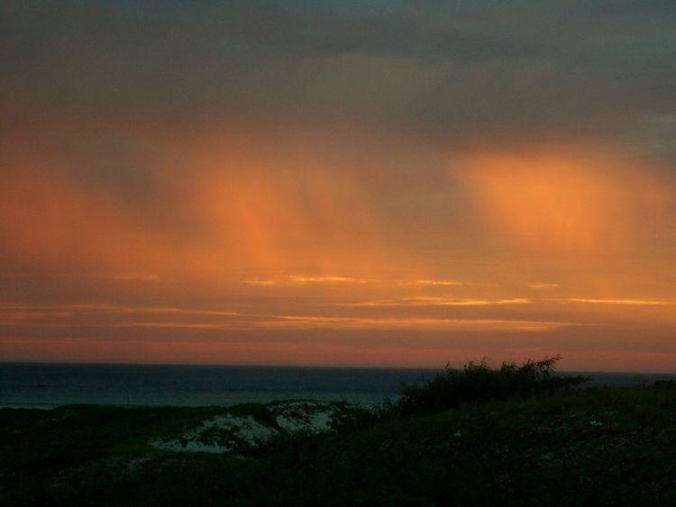 Sunset Nature Beauty In Nature Sky Sea Tranquil Scene Ceuemar Ceumaravilhoso