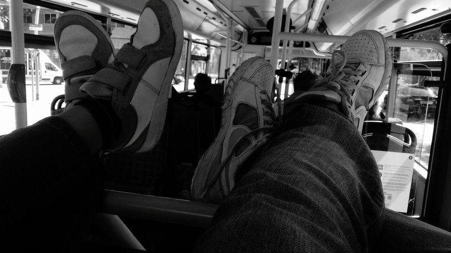 Blackandwhite Travel Lifestyles City Life Mode Of Transport Vehicle Interior Relaxation Personal Perspective DeTalPaloTalAstilla