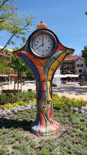 Békéscsaba Clock 8 O'clock Hungary