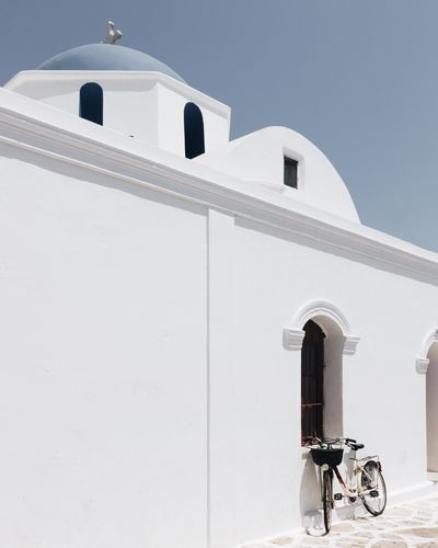 The Week on EyeEm Vacations Travel Photography EyeEm Best Shots EyeEm Selects Cyclades Greece TheWeekOnEyeEM EyeEmNewHere Architecture Built Structure Building Exterior Building Nature Day Sky Religion Mode Of Transportation Transportation Sunlight No People White Color