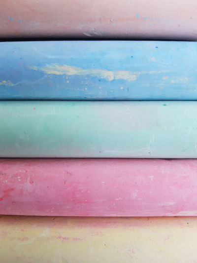 Color Chalk Backgrounds Full Frame Textured  Blue Multi Colored Pattern Close-up Turquoise Colored Peeling Off Peeled Deterioration Abstract Striped Damaged Abandoned Paint Parallel Rough Bad Condition Obsolete Abstract Backgrounds Rusty