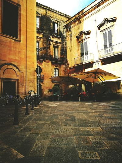 Lecce Building Exterior Lecce - Italia Road City Day City Life Old Town Barocco Barocco Architecture Barocco Leccese Street Outdoors Residential District Perspective Amazing Architecture Emotion Puglia South Italy Salento Italy🇮🇹 Scorci