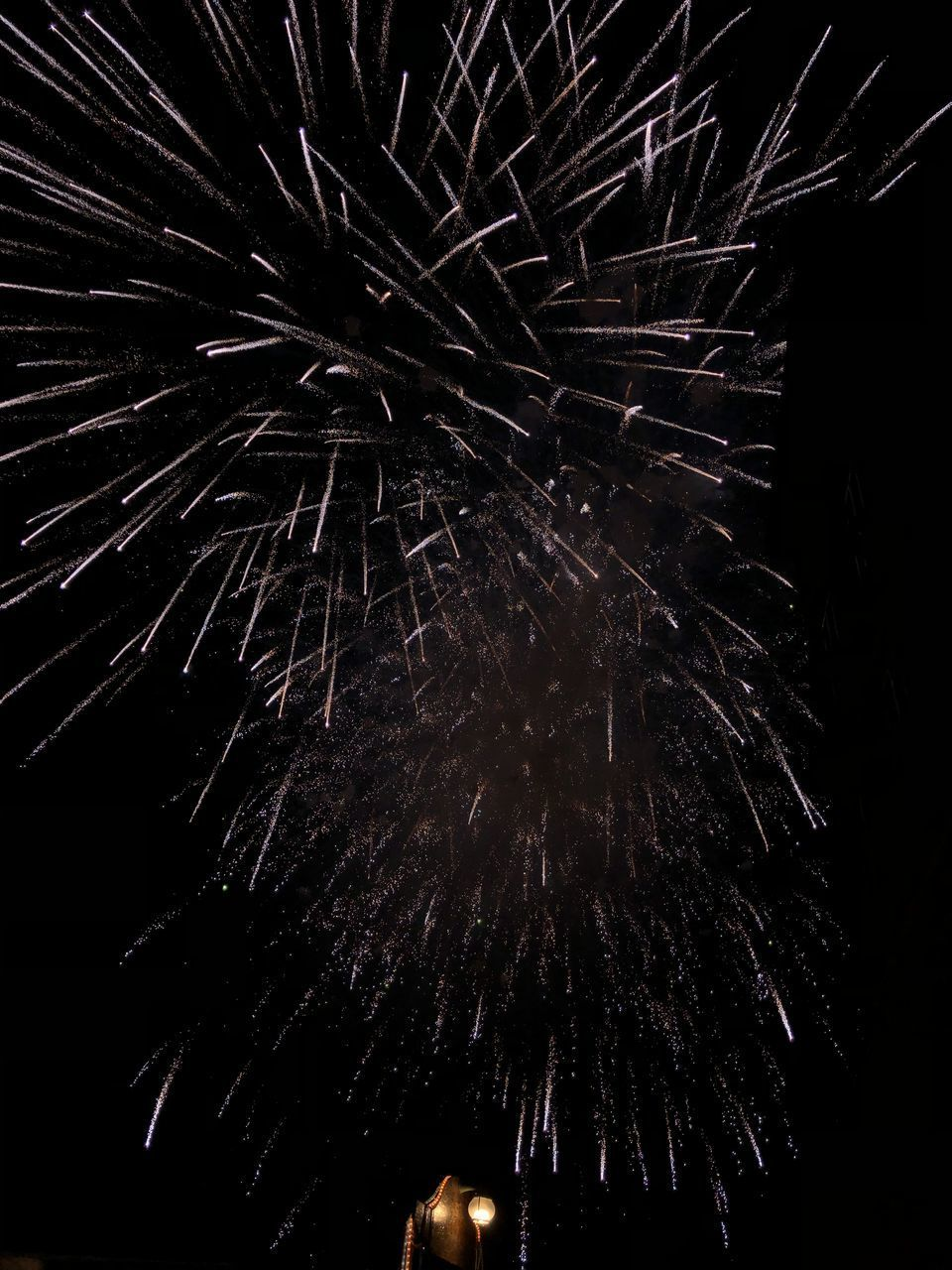 night, illuminated, firework, low angle view, celebration, firework display, event, exploding, arts culture and entertainment, motion, sky, no people, long exposure, firework - man made object, light, nature, sparks, glowing, blurred motion, celebration event, explosive