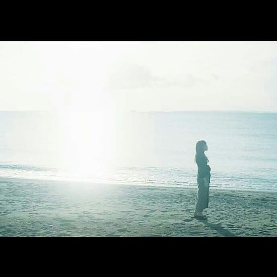 One Person People Sea Standing Sky Beach Girl Japan Japan Photography 海 房総 海岸 女子 EyeEmNewHere