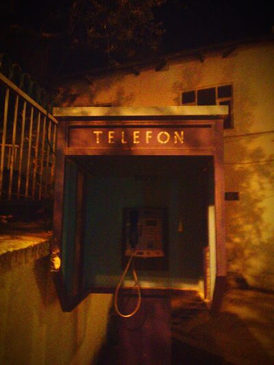Telephone Horror Vintage Retro Nightcall