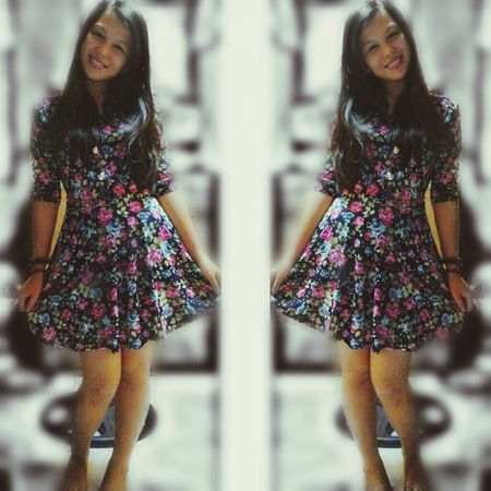 Outfit Of The Day EyeEm Its Me Floraldress Posey.✌️