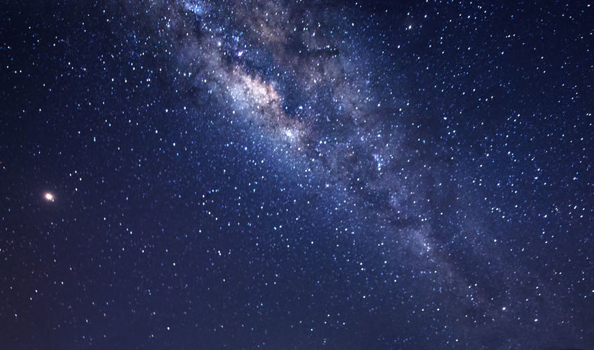 milky way during clear night sky. Space Astronomy Star - Space Sky Night Galaxy Beauty In Nature Nature No People Milky Way Backgrounds Scenics - Nature Low Angle View Outdoors Tranquility Star Field Constellation Glowing Star Tranquil Scene Dark Luminosity