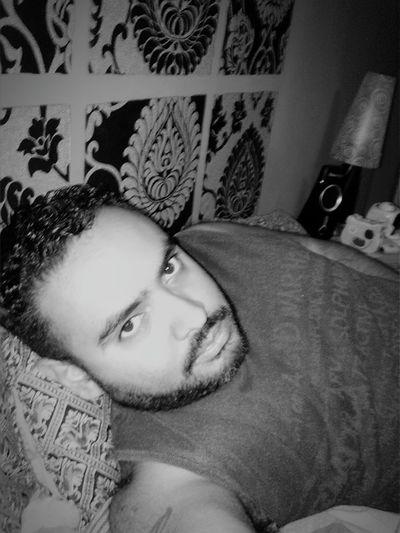Relax Blackandwhite Beard Bear Urso Orso Selfie ✌ Inmybed
