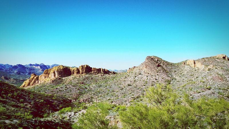 Tontonationalforrest Arizona Desert