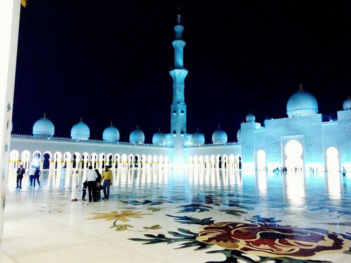 The Architect - 2016 EyeEm Awards First Eyeem Photo Abu Dhabi Sheikh Zayed Grand Mosque Nightvision 2k16 Shots