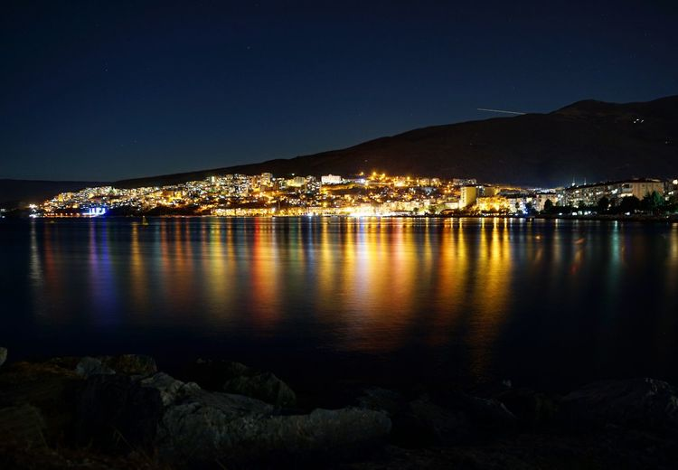 Gemlik. Bursa Night Cityscape Reflection Illuminated City Bursa Gemlik Turkey Sony A6000 EyeEm Best Shots EyeEm Gallery Eyeemphotography Türkiye Eye4photography  Turkeyphotooftheday