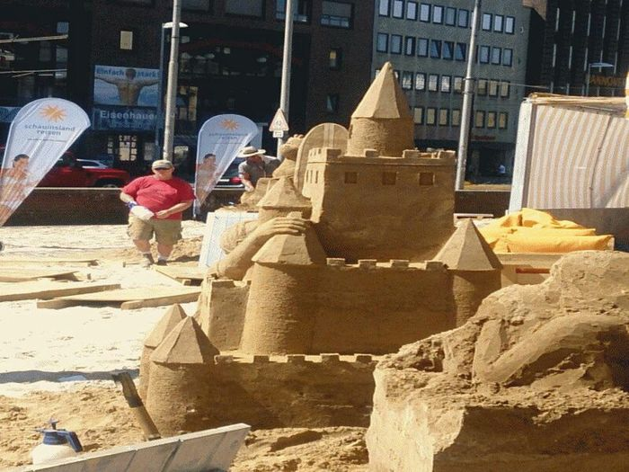 Citylife Today Hannover Sand Art