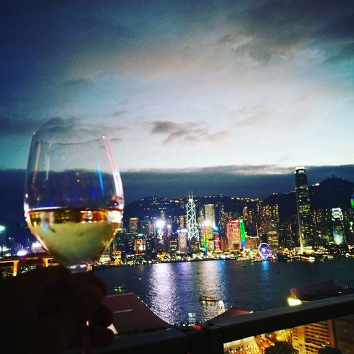 Wine Moments Wineglass Wine Travel Destinations Night Capturedonp9 My Year My View HuaweiP9 Lifewelltravelled Huawei HongKong Hongkong Photos Rooftop Rooftops ASIA Hking Huaweiphotography Hkinstargram Hkinsta Tourist Withaview Wine Moments Miles Away The City Light