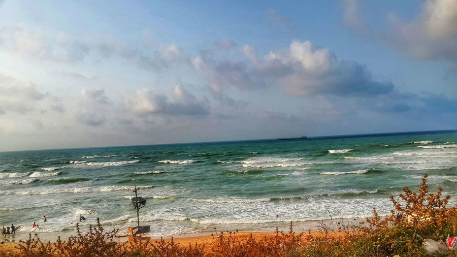 Sea Beach Sky Cloud - Sky Nature Popular Photos Blue Sky Majestic Seascape Idyllic Scenics
