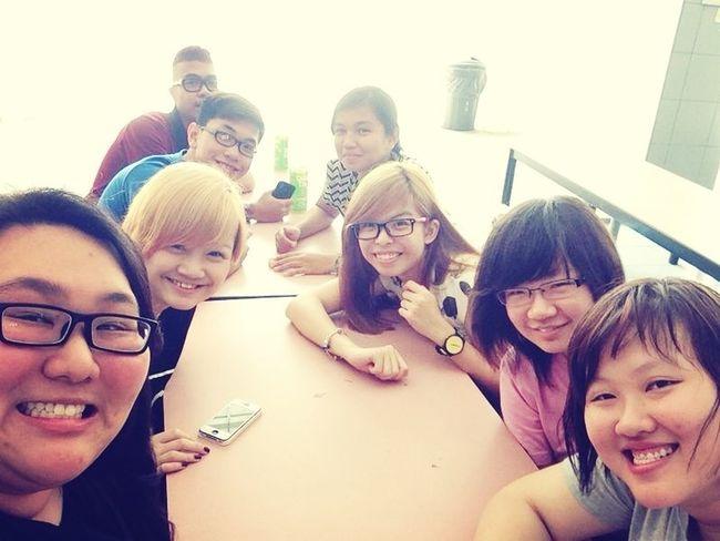Classmates :) Friends Singapore Asians Catchherfart