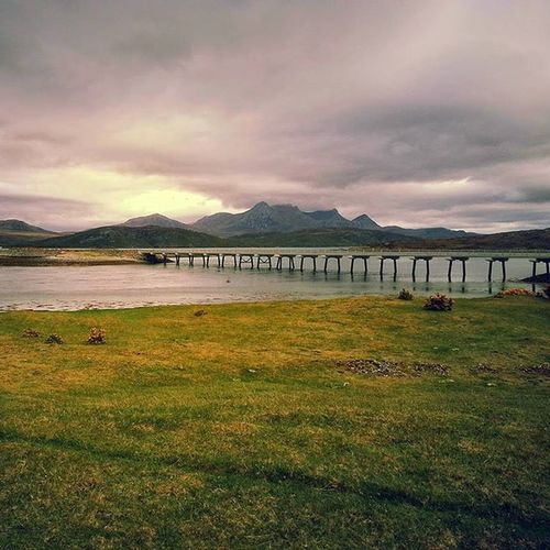 Taken from the cemetery in Tongue, Highlands. Simply beautiful up here. Instagram POTD Instagood Igers IGDaily Instapic Nature Walking Countryside Rural Outdoors Love Scotland Highlands Inverness Igscotland Ig_Scotland Tongue Bridge Kyleoftongue Tongue Beautiful Ordnancesurvey