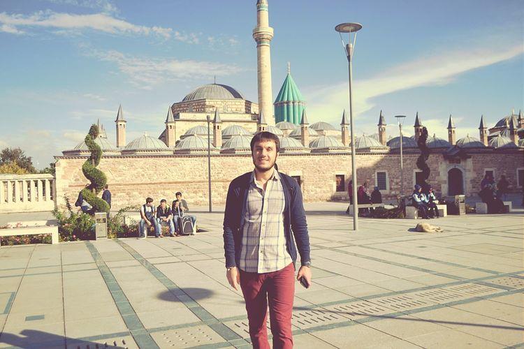 Amazing View Greatphoto Nice Atmosphere Historical Building Mevlana Mosque Konya Visiting Enjoying Life